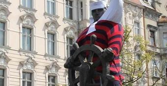 Ubieramy marynarza w Szczecinie